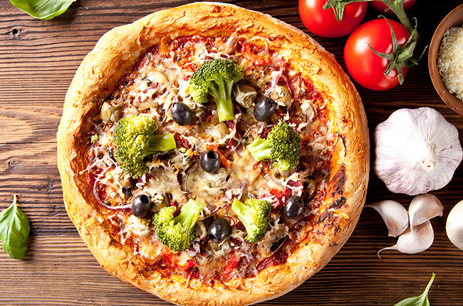 Hot new Pizza in our offer. Please give it a try and comment if is good